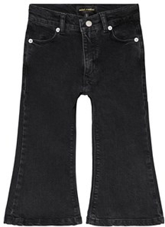 Mini Rodini Utsvängda Jeans Svart 104-110cm (4-5 years)