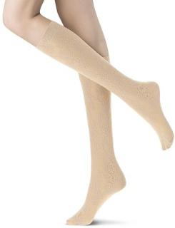 Oroblu Strømper Primrose Lace Knee-High Beige polyamid One Size Dame
