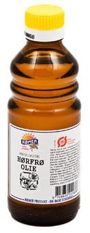 Koldpresset Hørfrøolie Økologisk (Rømer) 250 ml.