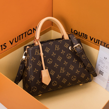 Louis Brand High Quality Cow Leather Shoulder Messenger Bags Famous Designer Women Purse and Handbag Large Capacity Casual Totes