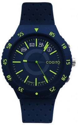 COGITO Smartwatch POP 3.0 Blå med Blå Siliconeband