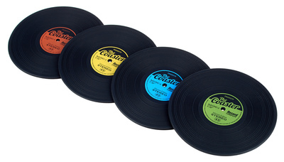 Music Sales Record Coasters