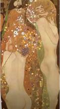 Steve Art Gallery Water Serpents II,Gustav Klimt,80x44.5cm