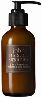 John Masters Jojoba & ginseng exfoliating face cleanser, 118 ml
