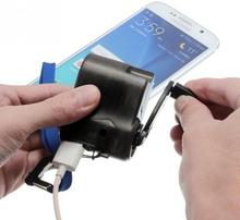 Nødlader til USB - Drives av egen kraft