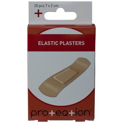 Proteqtion Elastische Pflaster 20 stk