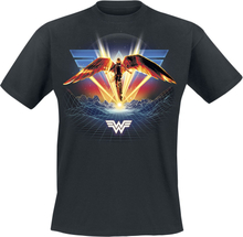 Wonder Woman - 1984 - Winged -T-skjorte - svart