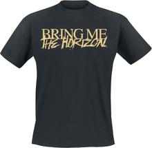 Bring Me The Horizon - Pharo Gold Logo -T-skjorte - svart