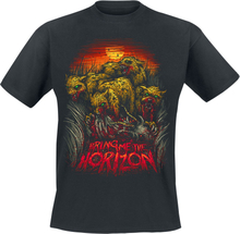 Bring Me The Horizon - Cheetah -T-skjorte - svart