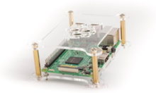 Pi 3 Model B+ Bundle - Acrylic