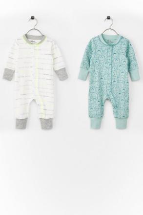 Pyjamasdragt Natura 2-pak i økologisk bomuld - Ellos