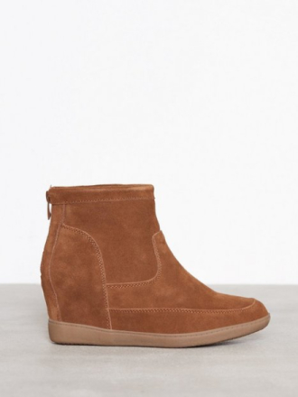 Duffy Leather Boot Cognac