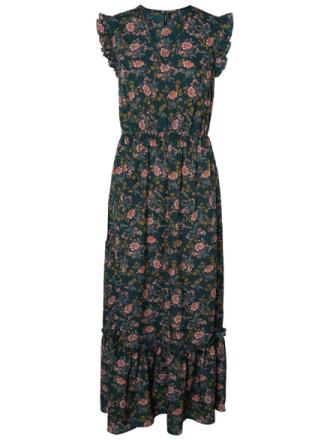 VERO MODA Floral Maxi Dress Women Green