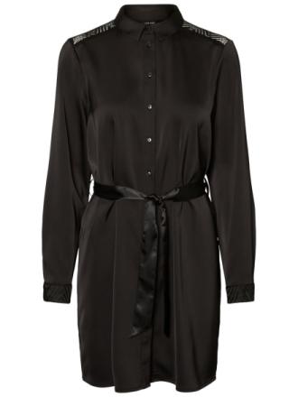 VERO MODA Shirt Dress Women Black