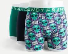 Frank Dandy 3 Pack Frank Alien Boxer Multi