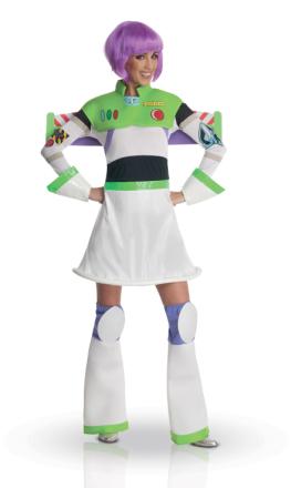 Kostume frøken Buzz Lightyear voksen - Vegaoo.dk
