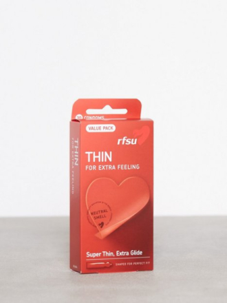 RFSU Thin Condoms 30-pack Intim Transparent