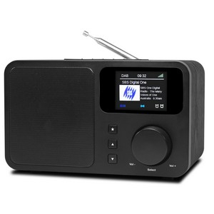 DAB+/FM Radio med Bluetooth Sort DB-230C
