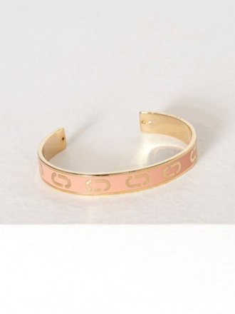 Armbånd - Peach Marc Jacobs Icon Enamel Cuff V1