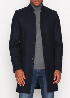 Only & Sons onsMAX Wool Trench Coat Exp Jackor Mörk Blå