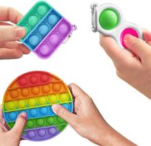 3-pack Fidget Toys - Pop It, Simple Dimple