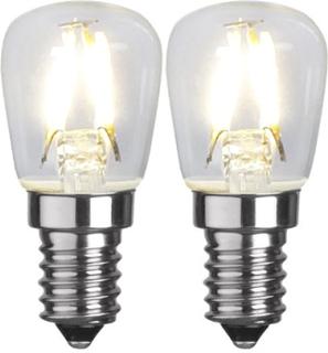 Star Trading E14 glödlampa LED 2-pack 2,6 cm 2700K