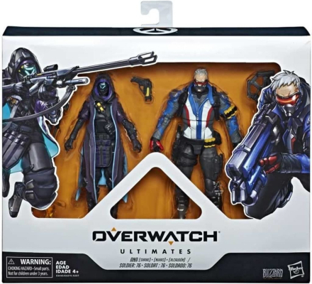 Overwatch, Actionfigurer - Soldier 76 och Ana
