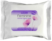 Beauty Formulas Feminine Intimate Hygiene Wipes 20 kpl