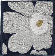 Unikko pyyhe mariininsininen-vaaleanharmaa 30x30 cm