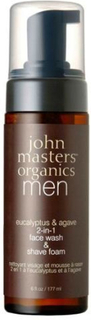 John Masters Face wash & foam 2-in-1 Men, 177ml.
