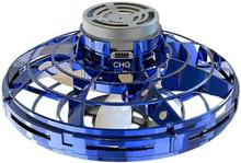 Mini Drönare 360 Grader Rotation. Ljus Blå