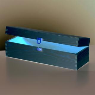 Trälåda 35,5 x 11,5 x 10,5 cm - obehandlat furu