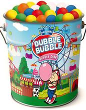 200 stk Original Dubble Bubble Gum - Flott Tinnboks med Tyggiskuler
