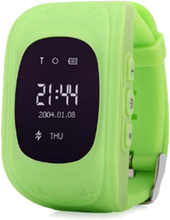 GPS Smartklocka för Barn - Grön