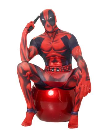 Kostume Morphsuits Deadpool klassisk voksen - Vegaoo.dk