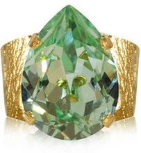 Classic Drop Ring Chrysolite