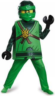 Kostume deluxe Lloyd Ninjago®- LEGO® børn