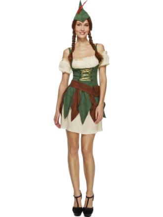 Skovtyv kostume voksen - Vegaoo.dk