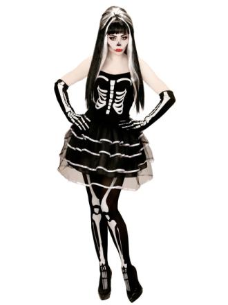 Kostume med nederdel i tyl voksen halloween til kvinder - Vegaoo.dk