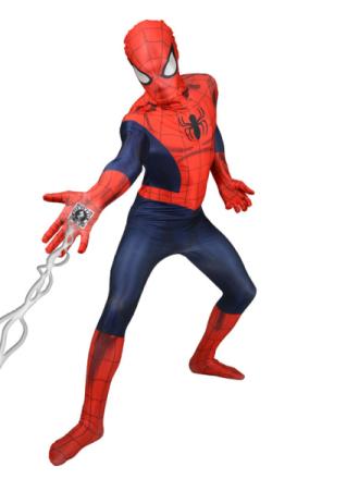 Kostume Morphsuits Spiderman Deluxe voksen M (op til 160 cm) - Vegaoo.dk