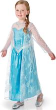 Frost Elsa Klänning för Barn - Lyxig