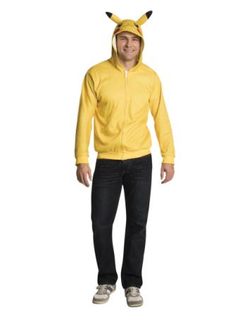 Kostume Pikachu Pokémon trøje til herrer - Vegaoo.dk