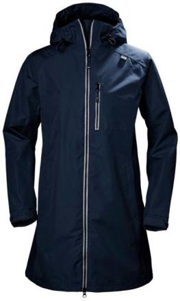 Women's Long Belfast Jacket Navy S