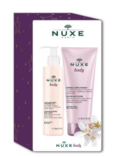 Nuxe Body gaveæske bodylotion & bodyscrub