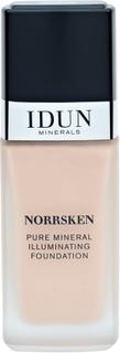 IDUN Minerals Norrsken Mineral Illuminating Foundation Jorunn, 30ml.