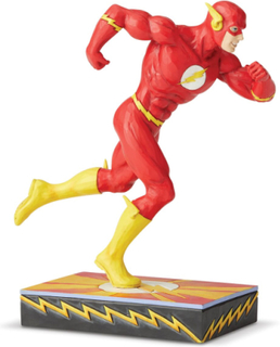 The Flash - Flash Silver Age Figurine -Statue - flerfarget