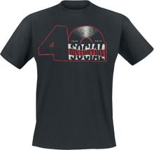 Social Distortion - 40th Record Logo -T-skjorte - svart