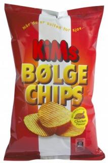 Kims Bølge Chips Original 175 g