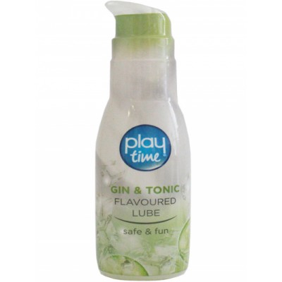 Playtime Gin & Tonic Flavoured Lube 75 ml