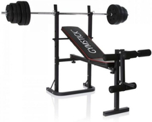 Weight Bench with 40 kg set